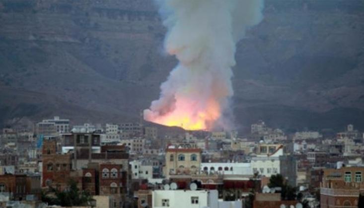 Suudi Koalisyon, Yemen'in Sade Bölgesini Vurdu