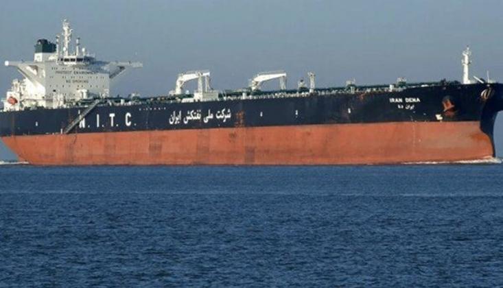 Akaryakıt Yüklü İran Tankeri Lübnan'da