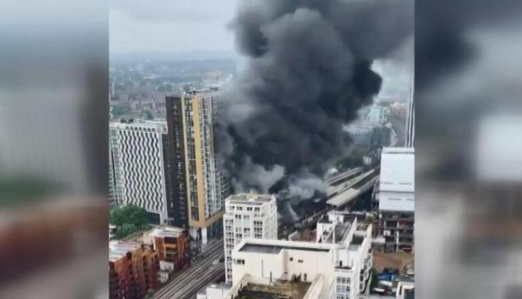 Londra'da Patlama Meydana Geldi