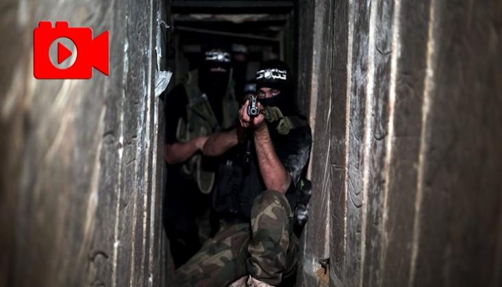 HAMAS'ın Tünellerinden İşgalci İsrail'e Mesaj