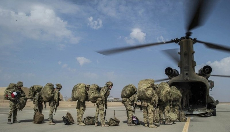 Amerika Irak'ın Batısından Çekiliyor