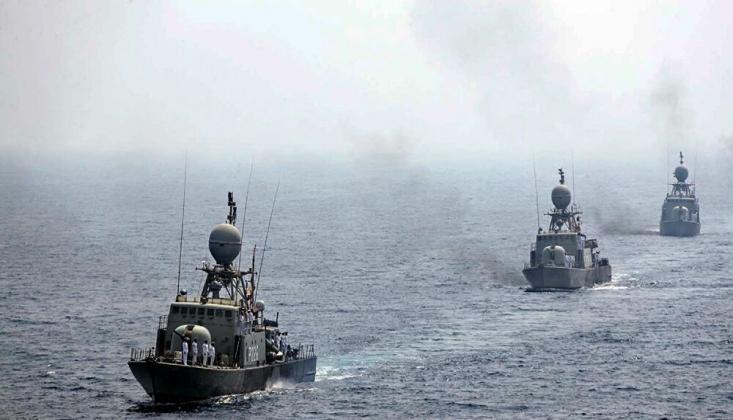 İran'da Çıkartma Gemisi Battı