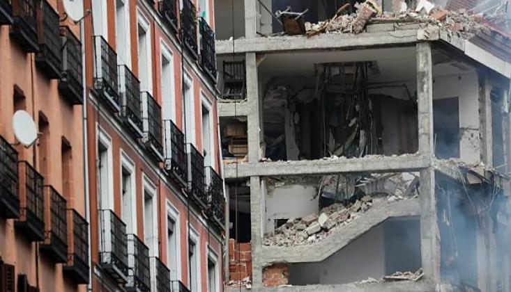 Madrid'de Şiddetli Patlama