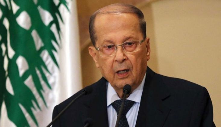 Lübnan Cumhurbaşkanı Avn'dan Patlama ile İlgili Açıklama