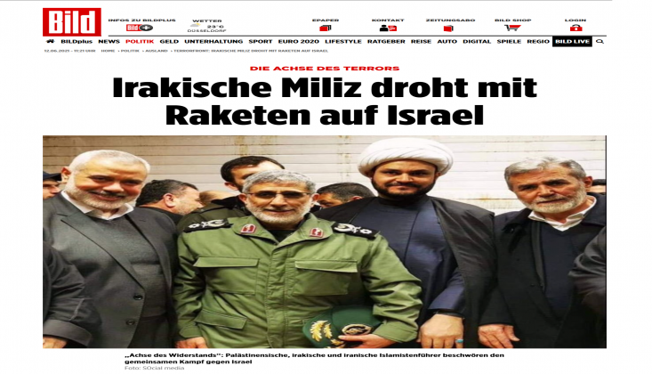 Alman Gazetesi: Nuceba'nın Füze Cephaneliği İsrail İçin Ciddi Bir Tehdit