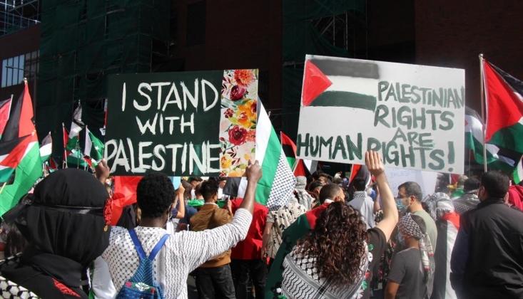 Dünyanın Dört Bir Yanından Filistin'e Destek