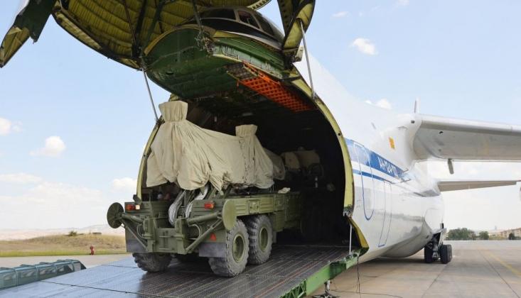 Rusya:  S-400'ün Türkiye'ye Sevkiyatı Tamamlandı