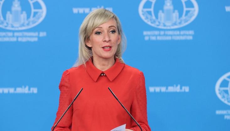Pompeo'nun Libya Mesajına Zaharova'dan Suriyeli Cevap