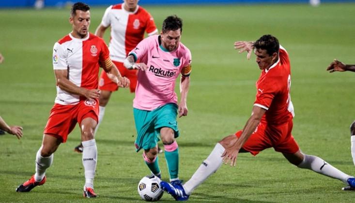 Messi Şov Yaptı, Barcelona Kazandı