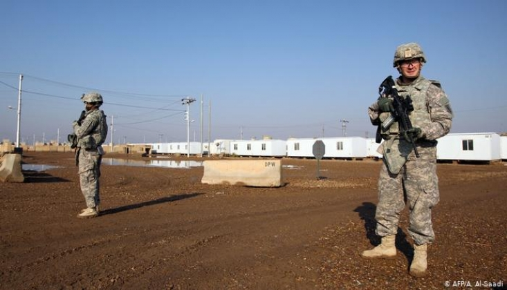 ABD Ordusu Muhabirlerin el- Taci Üssüne Girişine İzin Vermedi