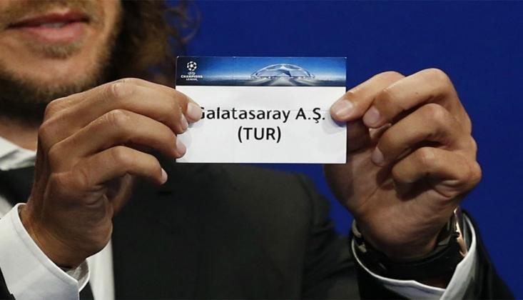 Galatasaray'ın Devler Ligi Grubu Belli Oldu!