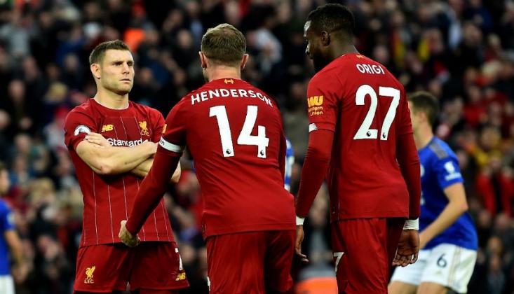 Premier Lig'de Liverpool Uçuşa Geçti