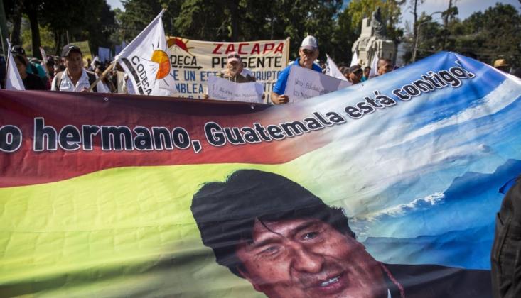 Bolivya'da Morales Yanlısı Gösteri Düzenlendi