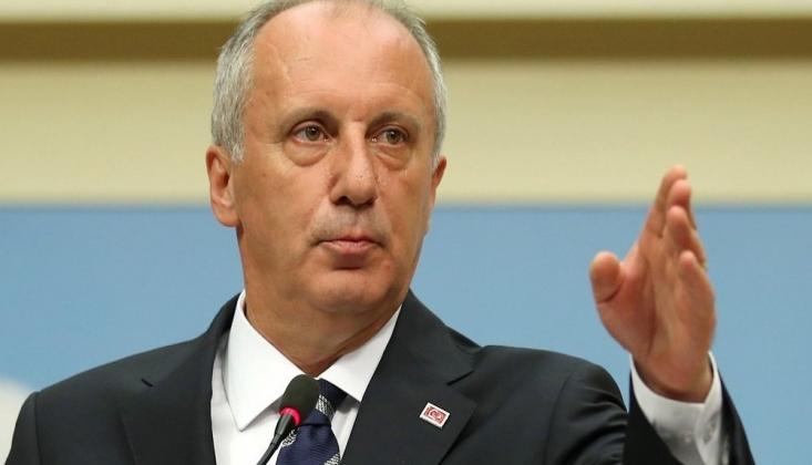 İnce'den Türk-İş Başkanı Atalay'a İstifa Çağrısı