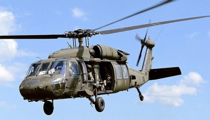 Tayvan'da Askeri Helikopter Düştü!