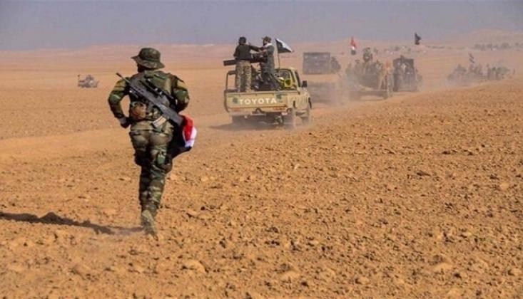 Haşdi Şabi'den IŞİD Teröristlerine Karşı Operasyon