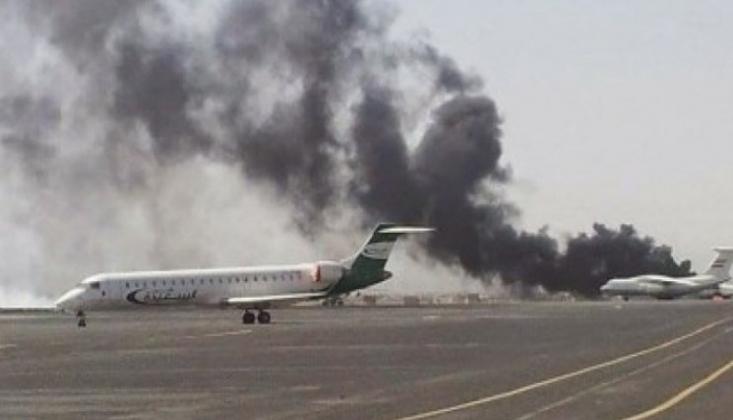 Suudi Arabistan'daki Abha Havaalanı İHA Saldırısıyla Hedef Alındı