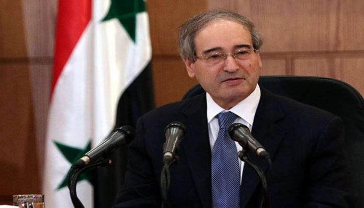 'Suriye Halkının Sıkıntıları, ABD'nin Acımasız Eylemlerinin Sonucudur'