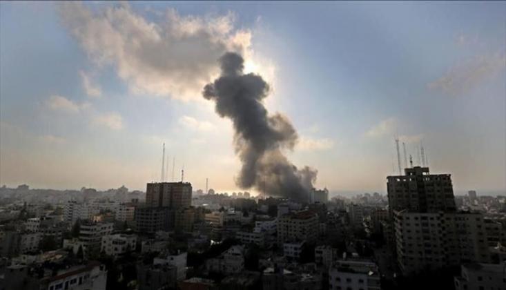 Siyonist Rejim, Gazze'yi Vurdu