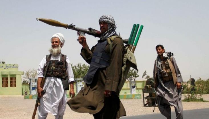 Taliban Çok Büyük Bir Askeri Teçhizata Sahip Oldu