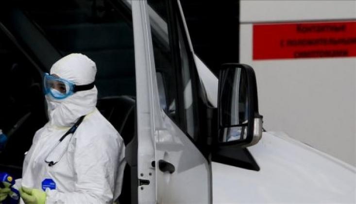 Rusya'da Koronavirüs Vaka Sayısı 7176 Arttı