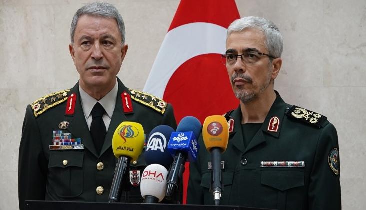 Hulisi Akar İranlı General ile Görüştü