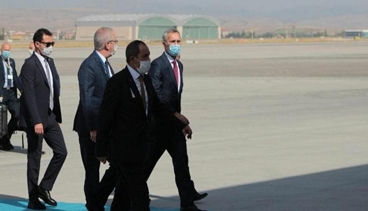 NATO Genel Sekreteri Stoltenberg, Ankara'da