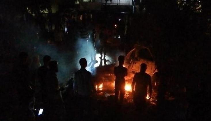 Suriye'nin Kuzeyindeki Bab'da Hava Saldırısı
