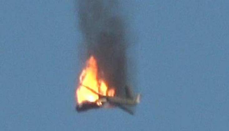 Arabistan'ın Casus Uçağı Düşürüldü