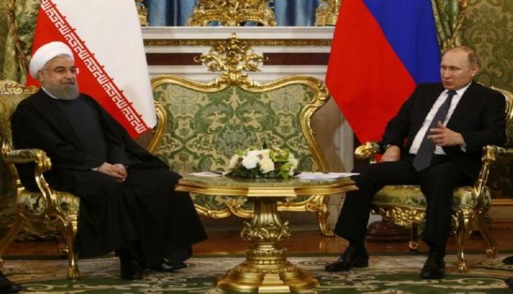 Putin'le Ruhani Suriye'yi Görüştü