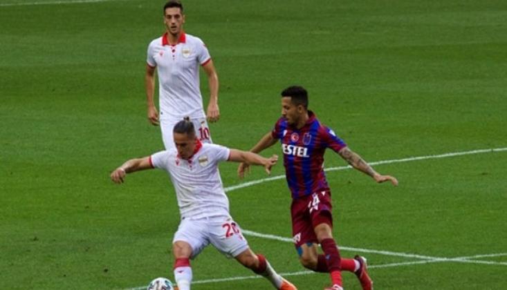 Trabzonspor, Samsunspor'a Mağlup Oldu