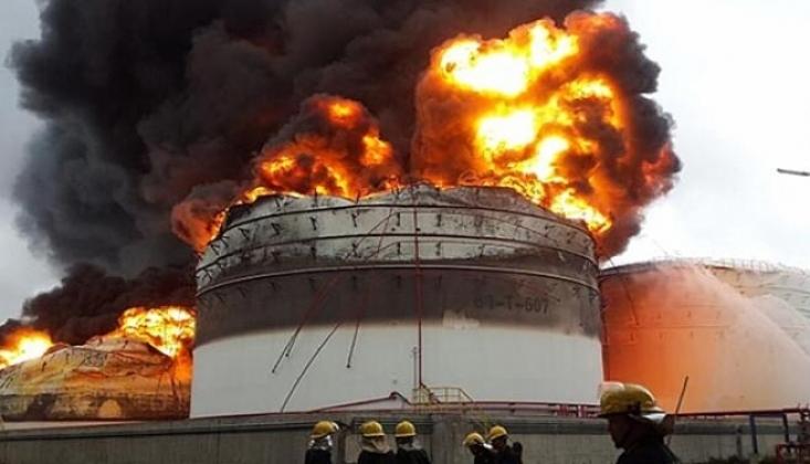 Çin'de Kimyasal Madde Fabrikasında Patlama