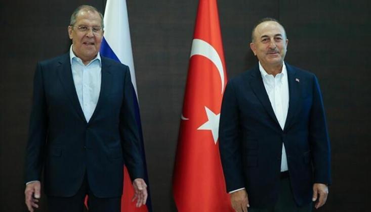 Lavrov ve Çavuşoğlu'ndan Ortak Açıklama