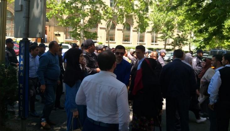 Bakü'de Kudüs Günü Mitingine Polis Engeli