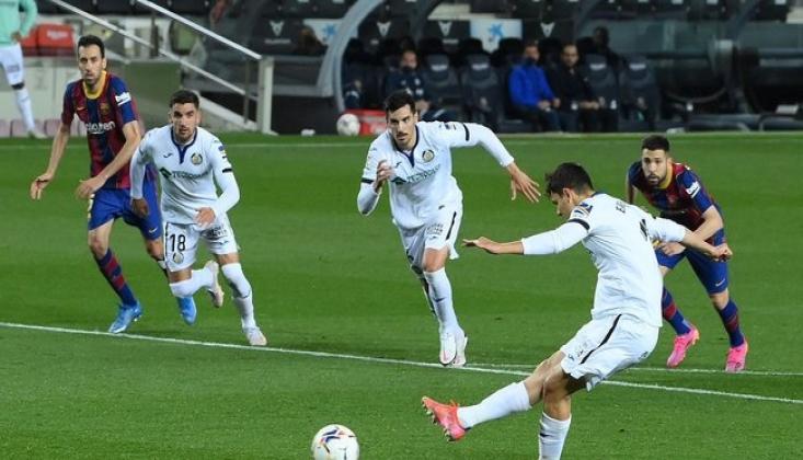 Enes Ünal'dan Barcelona'ya İlk Gol