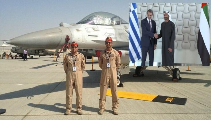 BAE F-16'larını Akdeniz'e Gönderdi