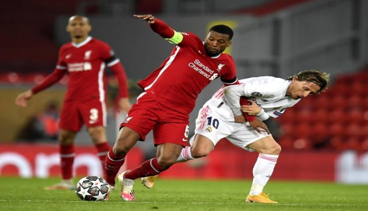 Real Madrid, Liverpool'u Eleyerek Yarı Finale Yükseldi