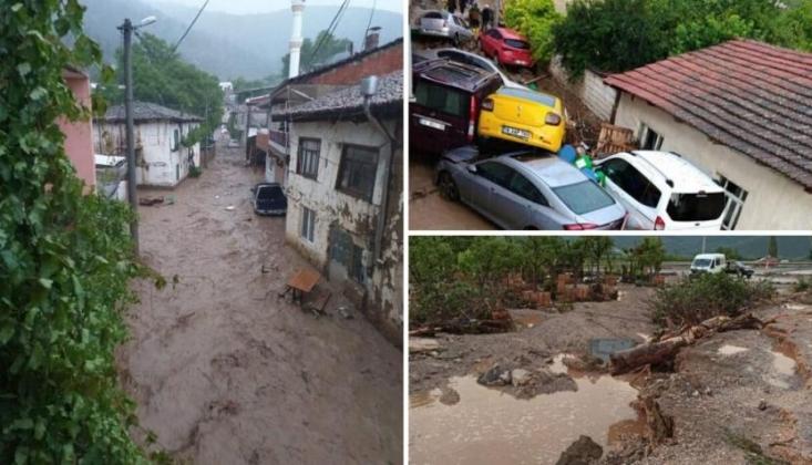 Bursa'da Sel: 5 Kişi Yaşamını Yitirdi, 1 Kişi Kayıp