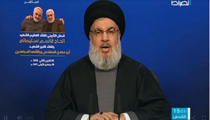 Nasrallah'tan Kasım Süleymani Açıklaması