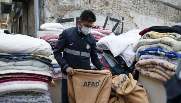 Depremzedeler İçin Getirilen AFAD Battaniyeleri Satılığa Çıkarıldı