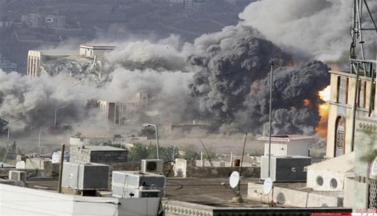 Suudi Koalisyonu Savaş Uçakları 253 Defa Bombaladı