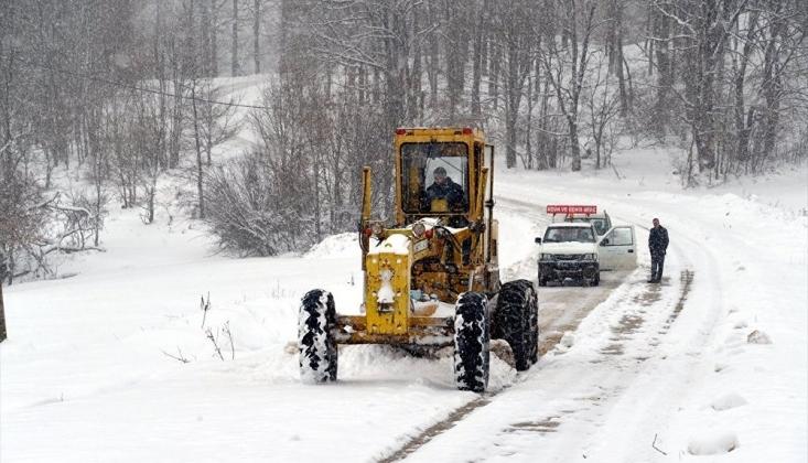 Meteoroloji'den 2 İl İçin Yoğun Kar Yağışı Uyarısı