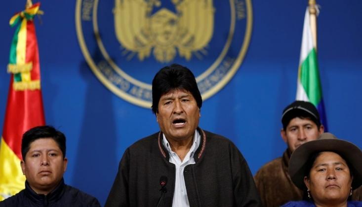 Bolivya Ordusundan Morales'e İstifa Çağrısı