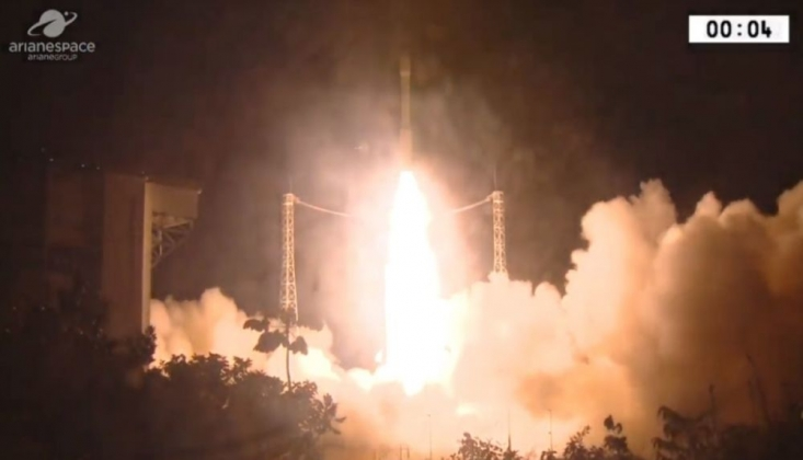 BAE Askeri Uydusunu Taşıyan Roket, Kayboldu
