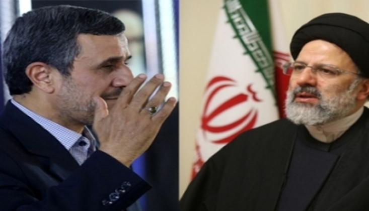Ahmedinejad,  İbrahim Reisi'ye Başarılar Diledi