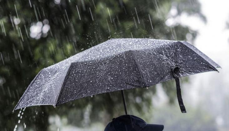 Meteoroloji'den İstanbul ve 20 İl İçin Yağış Uyarısı