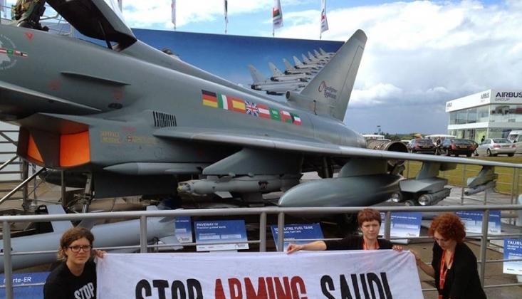 İngiliz Aktivistlerden Arabistan'a Silah Satılmaması Çağrısı