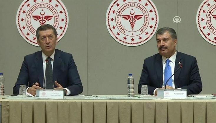 Sağlık Bakanı ve Milli Eğitim Bakanı'ndan Ortak Açıklama