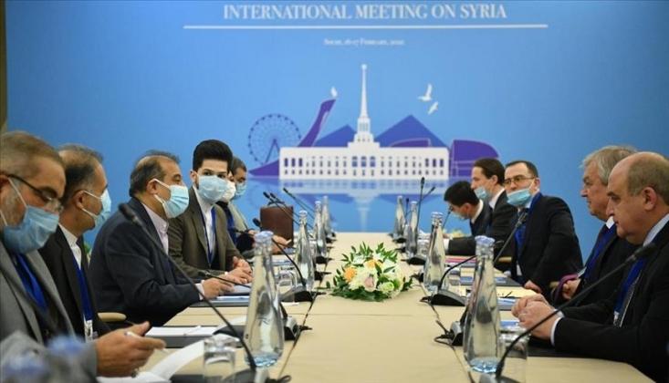 Dışişleri'nden Soçi'deki Astana Görüşmeleriyle İlgili Açıklama