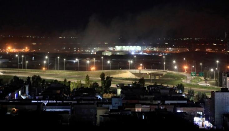 Irak'ın Erbil Kentindeki ABD Askeri Üssüne İHA Saldırısı